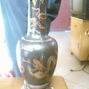 木制漆器赏瓶