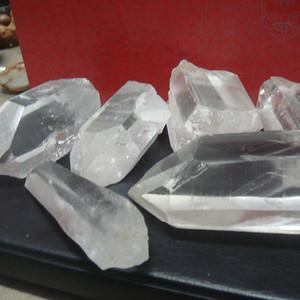 标本石---天然纯水晶柱