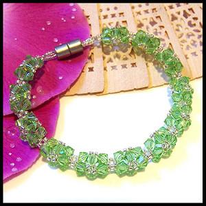 流光晶彩★天然优质极品彩水晶★手链