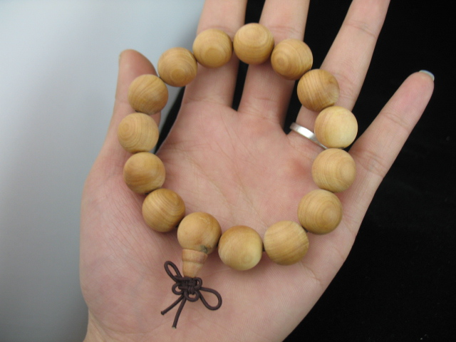 澳洲檀香1.5直径手钏