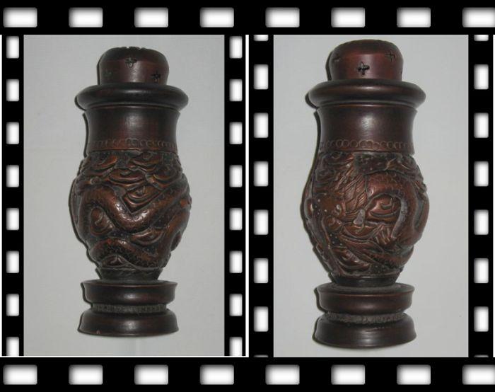 木雕蛐蛐罐图1-在线竞价-图片|图库|价格