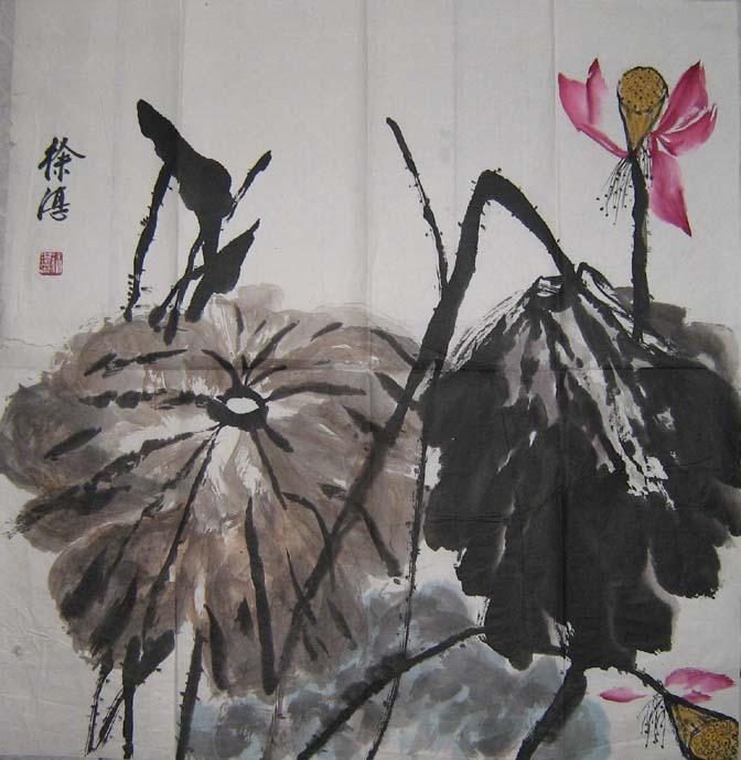 徐湛国画仙鹤图片大全