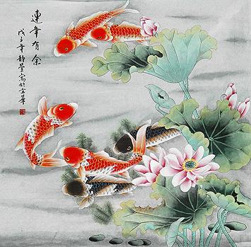 画家静萱/李文玲作品图片