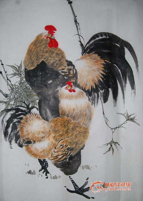 著名画家写意花鸟画作品
