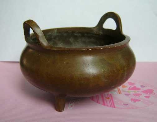 宣德款铜香炉图1-在线竞价-图片|图库|价格