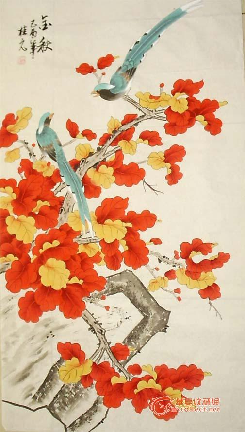 工笔牡丹兼人物草虫作品,多次在省地市报发表,在《首届中国农民书画展