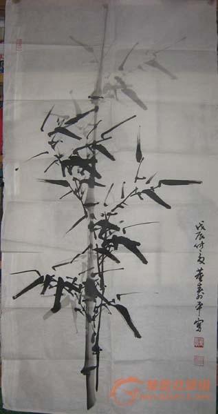 竹子速写图片素材