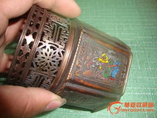 铜制大烟灯一个图3-在线竞价-图片|图库|价格