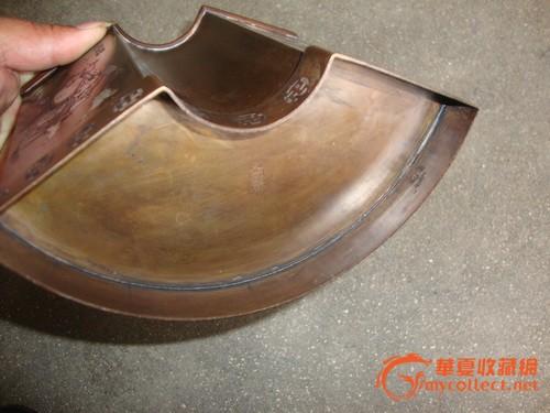 精美铜制扇形笔筒图5-在线竞价-图片|图库|价格