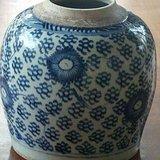 清中期菊花团纹