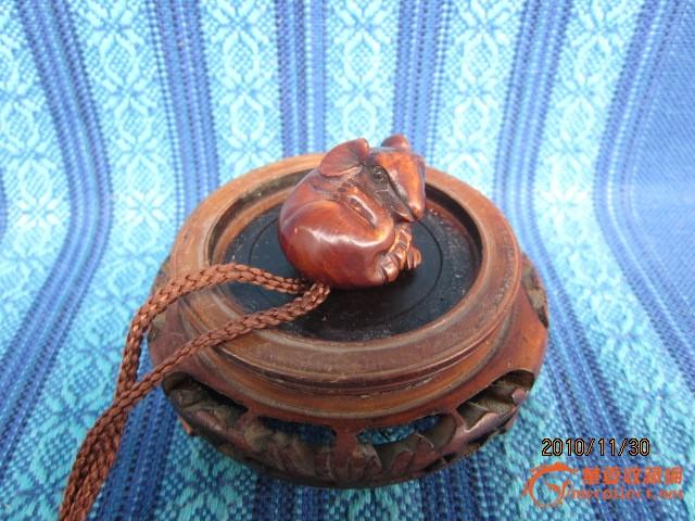 木雕老鼠挂件_在线拍卖