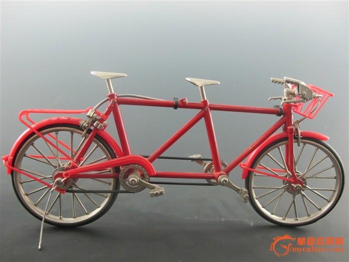 欧洲微型变速双人自行车