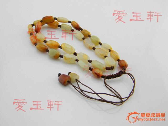 项链绳子拉伸的编法图解