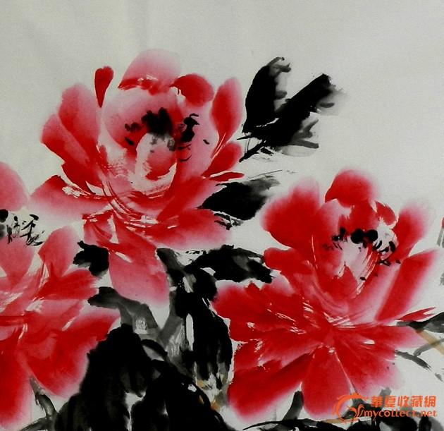 靳耀华——中国画牡丹之一