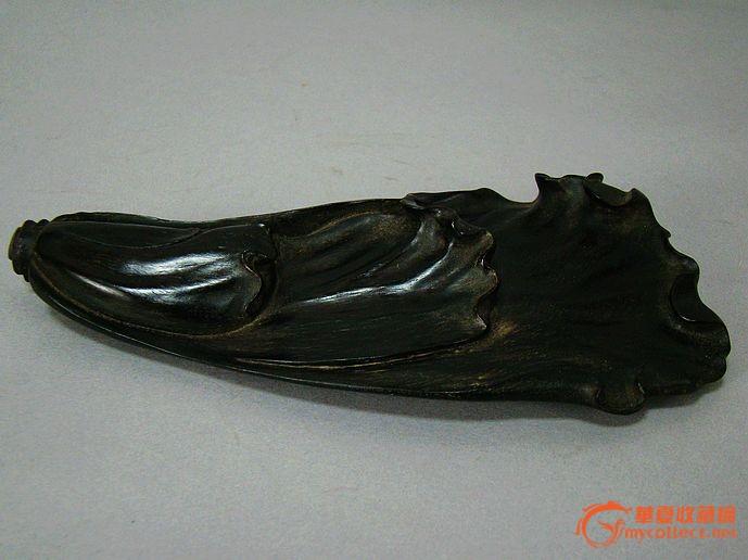 木头雕刻白菜图片