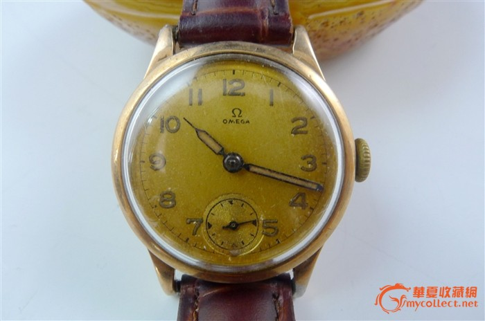 欧米茄 经典18k金 手表图片