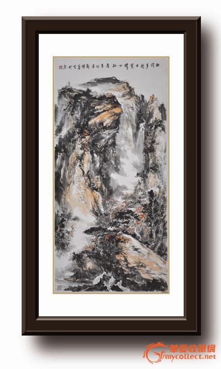 传奇画家——靳耀华美术作品《林深多隐士 莫问少知音