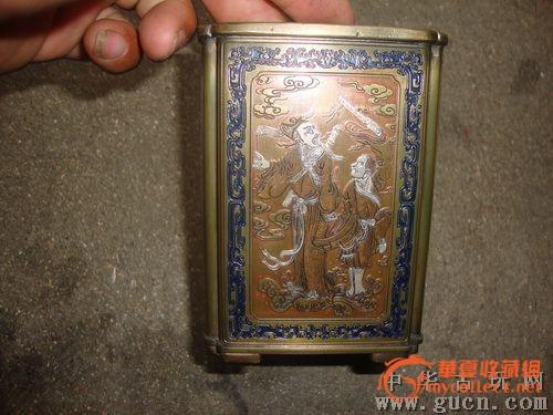 精美铜质笔筒图1-在线竞价-图片|图库|价格
