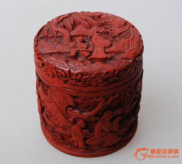 清代剔红漆盒3件_清代剔红漆盒3件v剔红_来自邻苯二甲酸环己酯图片