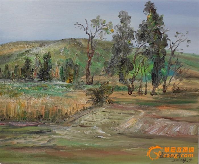 白羽平油画风景图1-在线竞价-图片|图库|价格