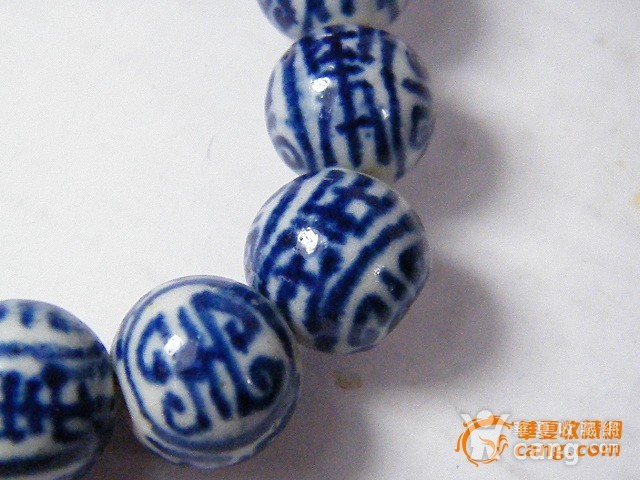 青花瓷珠手链图4