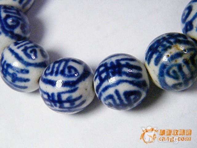 青花瓷珠手链图7