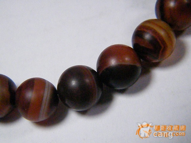 玛瑙圆珠手链图3