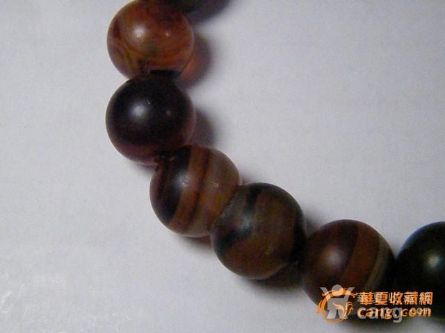 玛瑙圆珠手链图4