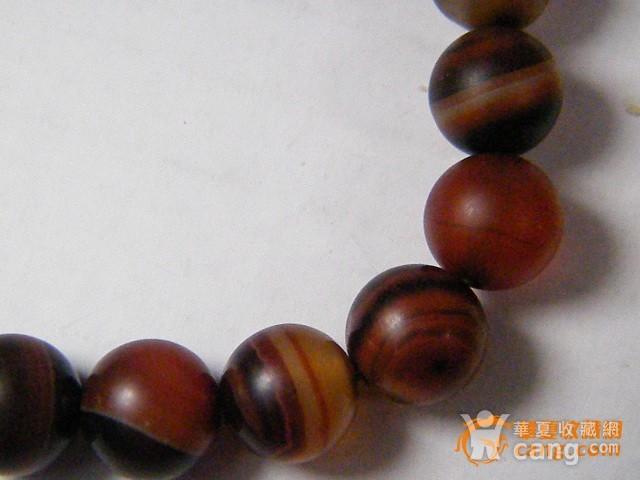 玛瑙圆珠手链图7