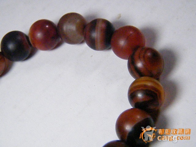 玛瑙圆珠手链图8