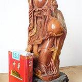 寿山石雕老寿星