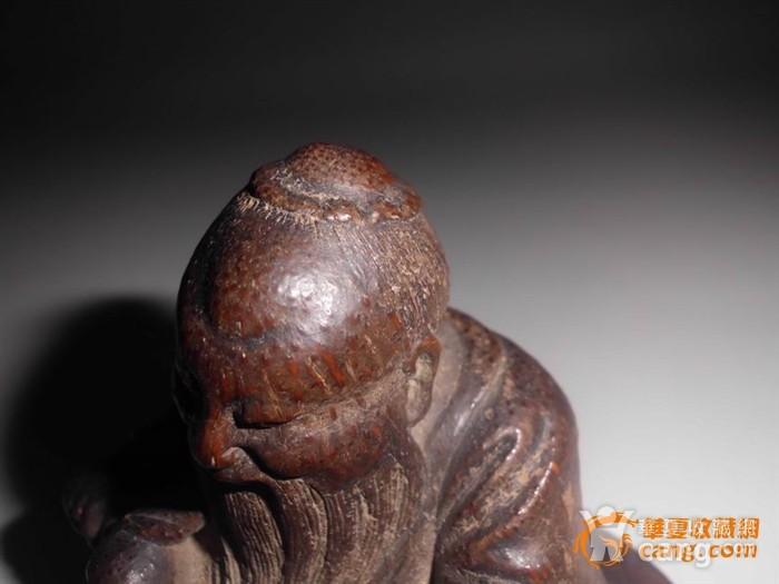 老竹根雕刻老者图4
