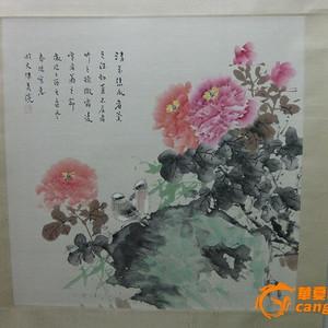 霍春阳:菊花图,秋菊