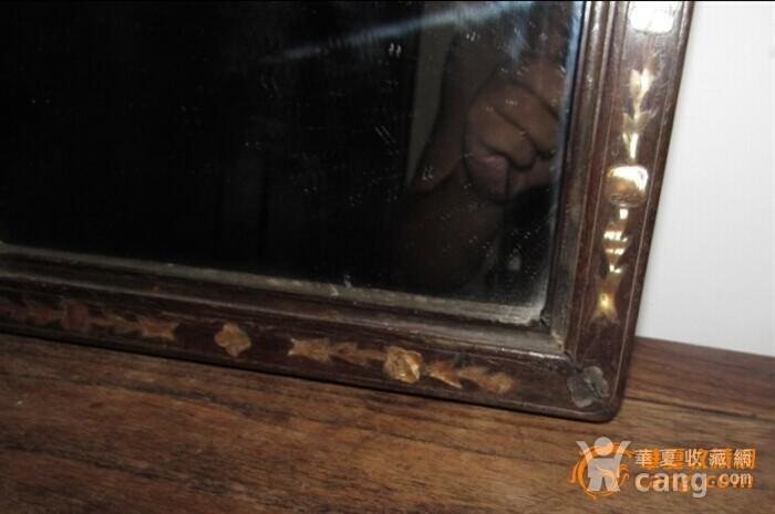 红木典范 晚清挂镜 【镶�挂镜 超值分享】图2