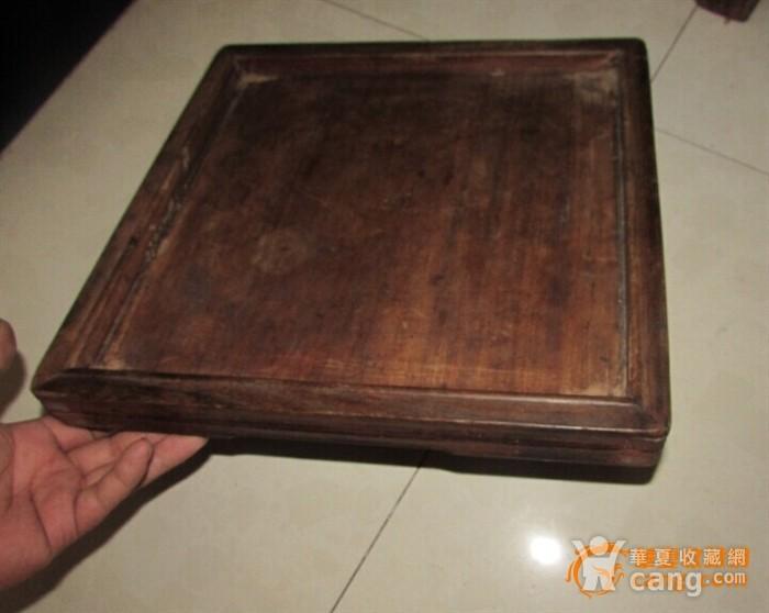 苏工。起线榉木方形茶盘图8