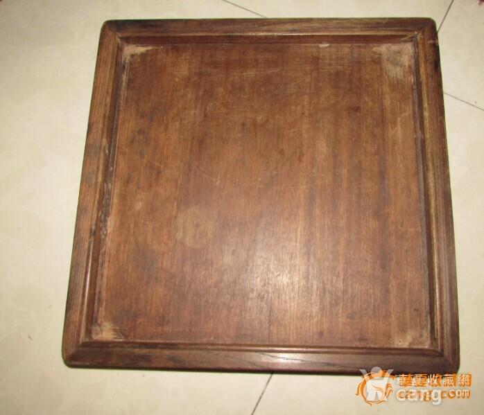 苏工。起线榉木方形茶盘图10