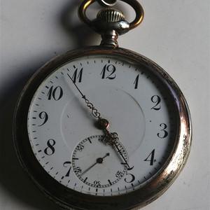 一百多年的老机械瑞士产800银表,1814年生产,走时精准,好的