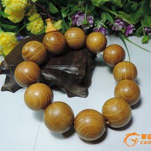 黄金柚木手串