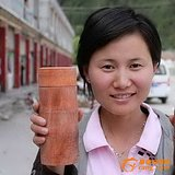 上一款少见的:云南红豆杉保健杯