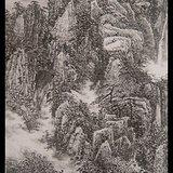JD1320222-皖山积翠-好字画