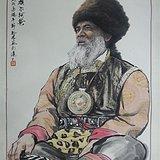 【藏族老阿爸】黄庙林作品 好字画