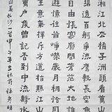 好字画  孙彦明书法作品 毛泽东词沁园春长沙