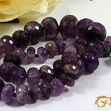 回流 宝石面 天然 紫晶 项链 一条