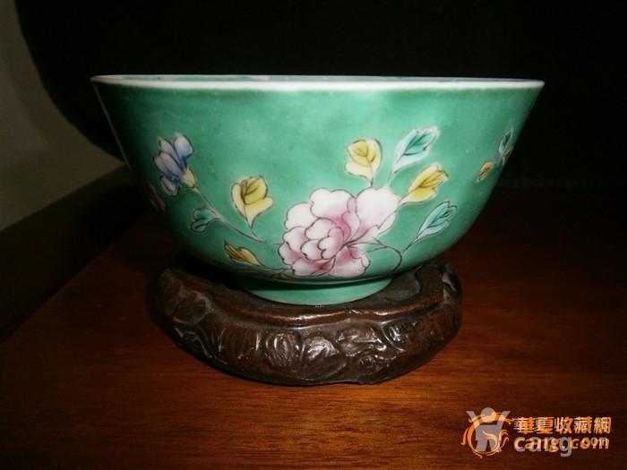 少有品种-清湖绿花卉碗,图8