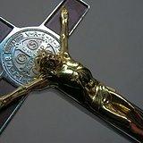 鎏金天主十字架