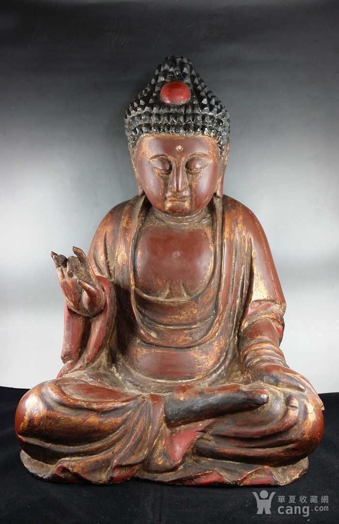 清代木雕佛像_收藏资讯_华夏收藏网