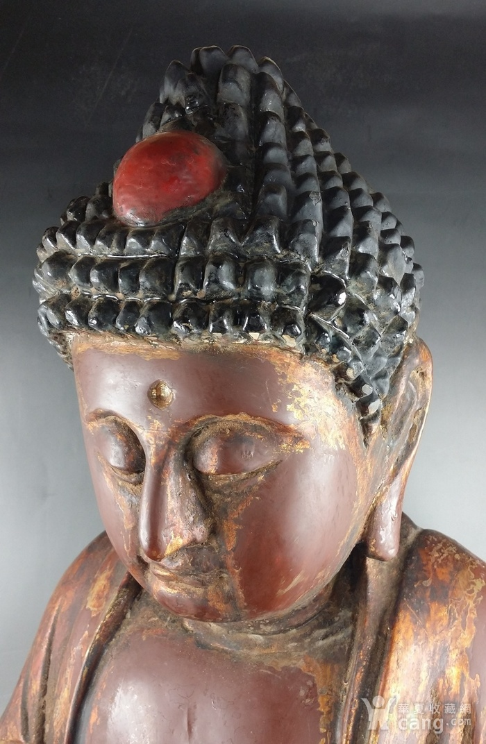 清代木雕佛像图6