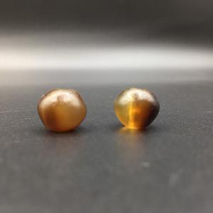 1#【小缠丝】玛瑙一对配珠