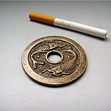 吉庆有余铜花钱