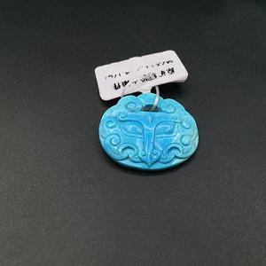 108#【高瓷高蓝】绿松石